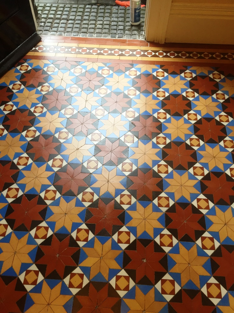 Victorian Floor Stourbridge Cleaned Repaired and Sealed