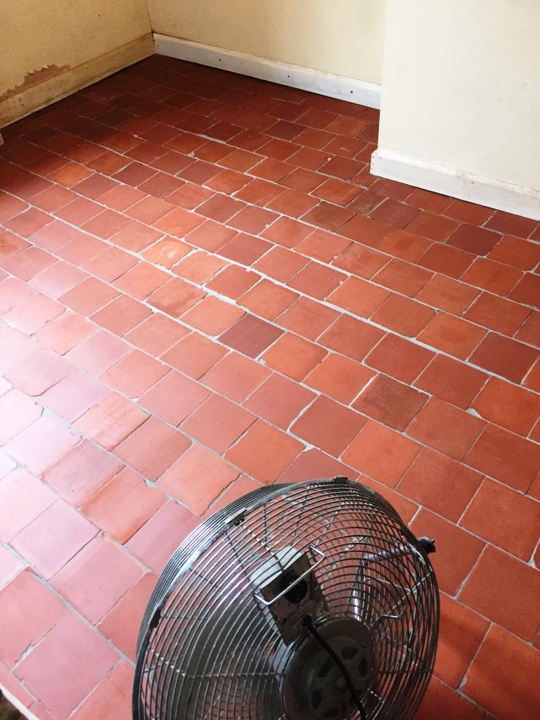 Quarry Tiles Refurbishment Worcestershire Farm