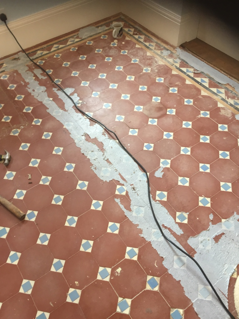 Rebuilding And Restoring An Edwardian Tiled Hallway In