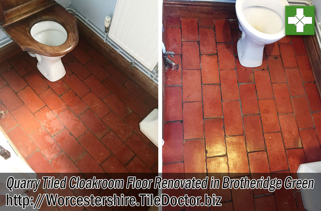 Victorian Tiled Hallway Before and After Renovation Tooting