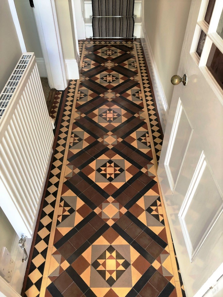 Victorian Floor After Restoration Worcester