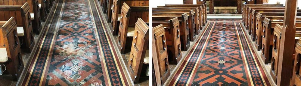 St Michaels Church Floor Restoration Rushock