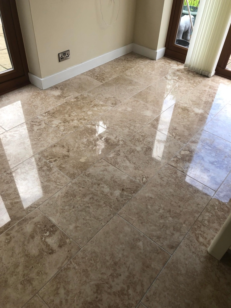 Marble Tiled Floor After Polishing Callowend